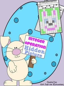 Mixed Integer Operations: Hidden Bunny Picture