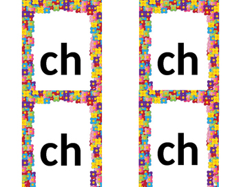 Mixed Letter Blend Flash Cards