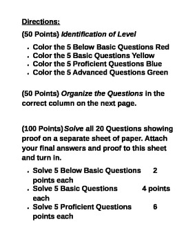 Mixed Level Algebraic Solving