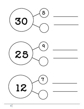 Mixed Math Goals Practice--Elementary Computation and Reasoning