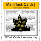 Halloween Math Word Problems | Mixed Operations