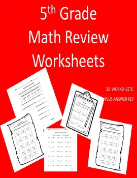 Mixed Math Practice - 5th Grade
