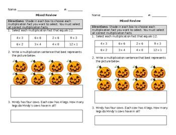 Mixed Math Review #29