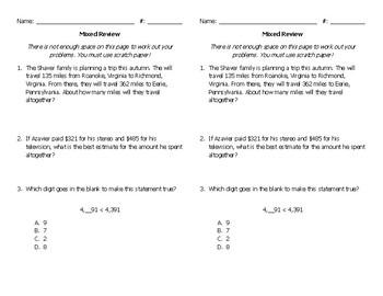 Mixed Math Review #36
