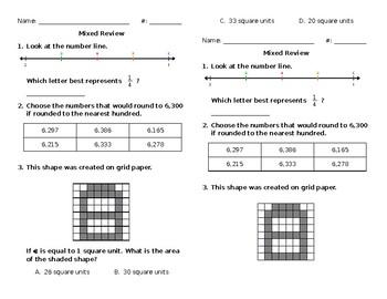 Mixed Math Review #42