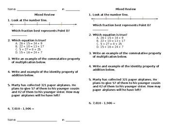 Mixed Math Review #45