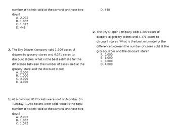 Mixed Math Review #5