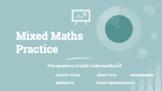 Grade 4/5 Mixed Maths Practice