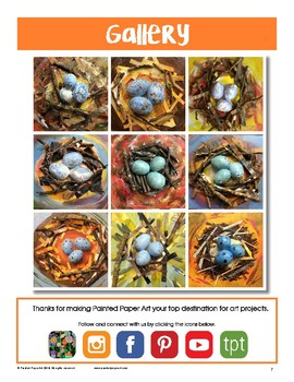 Mixed Media Bird Nests