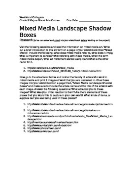 Mixed Media Boxes