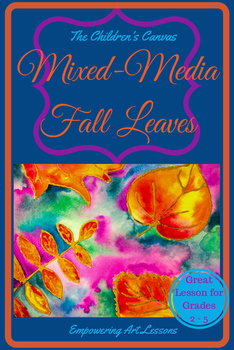 Mixed-Media Fall Leaves