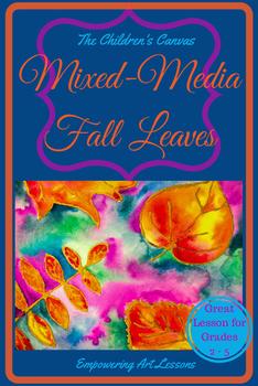 Mixed-Media Fall Leaves