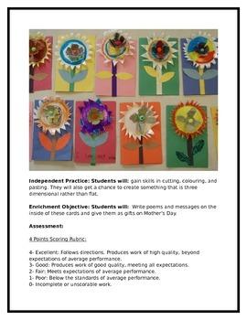 Mixed Media Flowers!! Art Lesson!