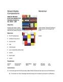 Mixed Media Mondrian Compositions