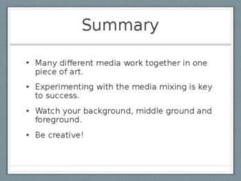 Mixed Media Presentation