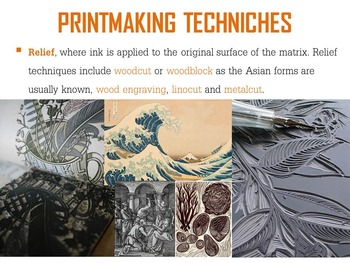 Mixed Media Printmaking PowerPoint Introduction