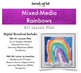 Mixed-Media Rainbow Art (Perfect for Spring, Weather Units