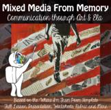 "Mixed Media Project - ""Where I'm From poem""  - AP Art & AP ELA -Advanced"