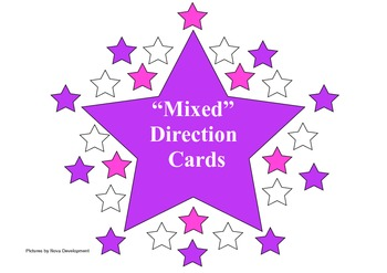 Mixed Medium Level Direction Cards