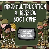 Mixed Multiplication & Division Boot Camp