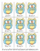 Mixed Multiplication Math Center Games 0 to 5 Multiplication Facts