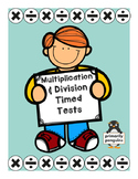 Mixed Multiplication and Division Timed Tests