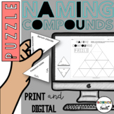 Naming Compounds Puzzle Activity in Digital and Print   Distance Learning