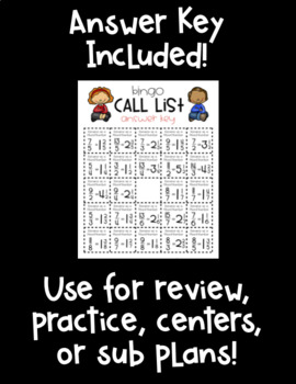 Mixed Number BINGO! 32 Cards! Convert Improper Fractions to Mixed Numbers!