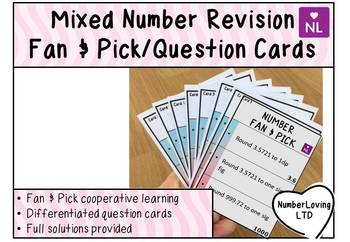 Mixed Number (Fan and Pick Cooperative Learning)