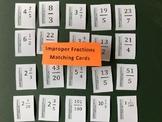 Mixed Number / Improper Fraction Matching Card Decks