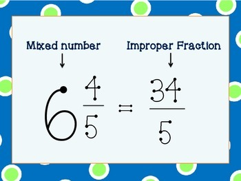 Mixed Number Matching
