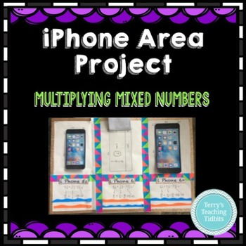 Mixed Number Multiplication Project - iPhone Areas