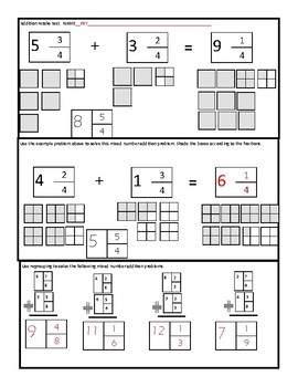 Mixed Number addition and subtraction with regrouping