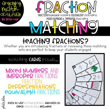 Fraction Activity (Mixed Numbers, Improper Fractions, and Equivalent Fractions)
