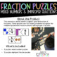 Mixed Number and Improper Fraction Puzzles