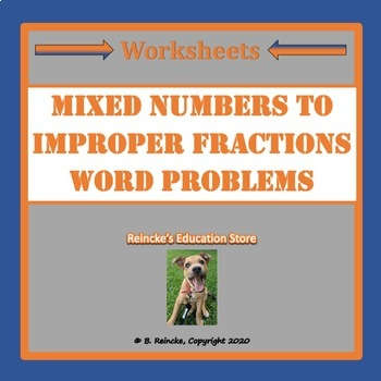 convert mixed number to improper fraction worksheet - Worksheets ...