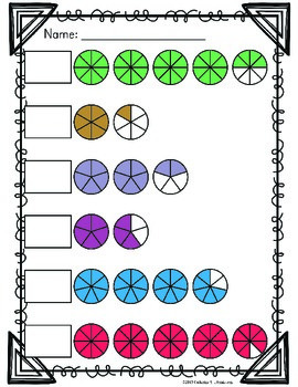 Mixed Numbers Worksheets