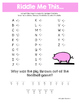 Converting Mixed Numbers and Improper Fractions Math Riddles