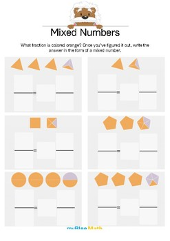Fractions: Mixed Numbers 3