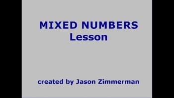 Mixed Numbers (Add and Subtract)