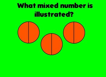 Mixed Numbers FLIPCHART