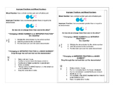 Mixed Numbers and Improper Fraction Journal Notes