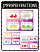 Fraction Task Cards: Mixed Numbers and Improper