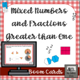 Mixed Numbers and Improper Fractions - Distance Learning -