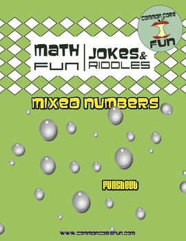 Mixed Numbers and Improper Fractions FUNsheet