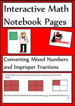 Converting Mixed Numbers to Improper Fractions for Interac