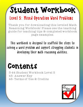 Mixed Operation Word Problems