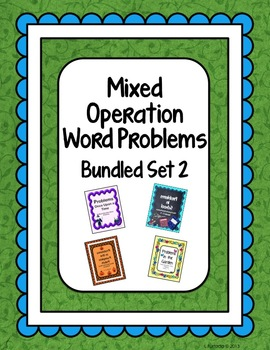 Mixed Operation Word Problems Bundle 2