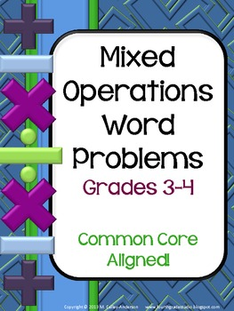 Mixed Operations  Problem Collection: Grade 3-4