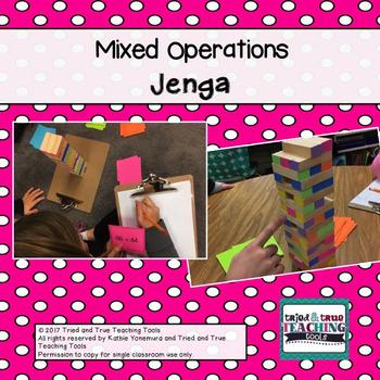 Mixed Operations Jenga